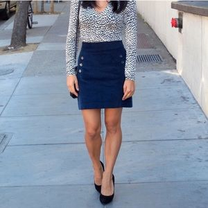 {Banana Republic} Mini Corduroy Skirt
